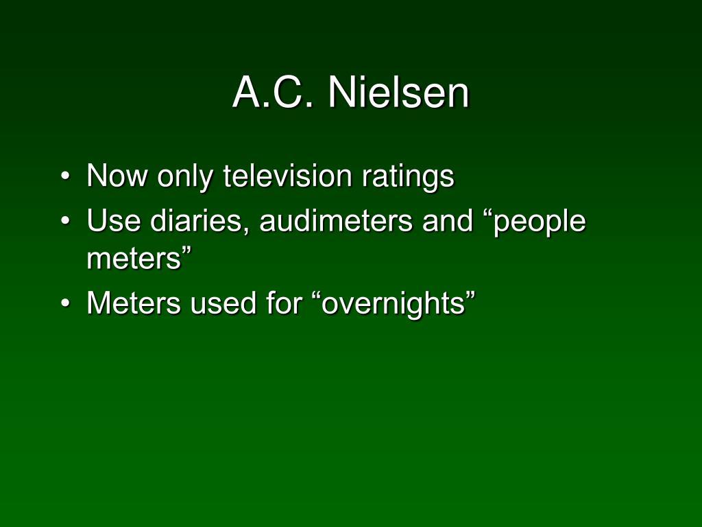A.C. Nielsen