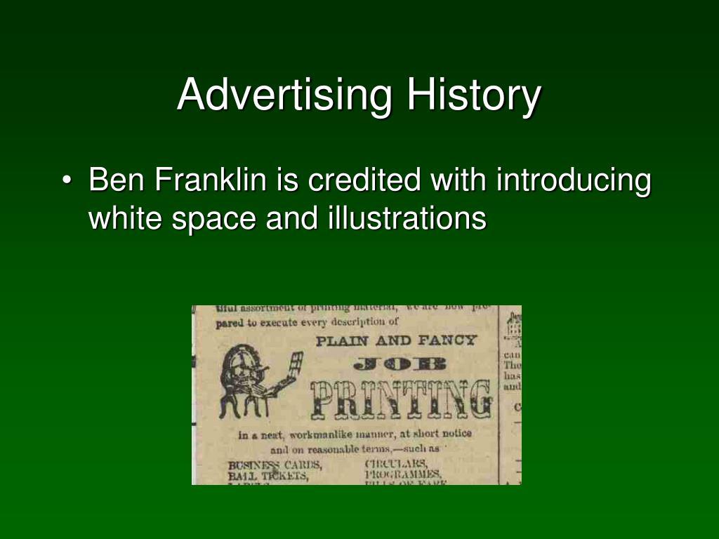 Advertising History