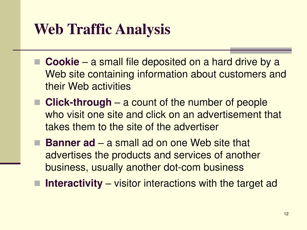 Web Traffic Analysis