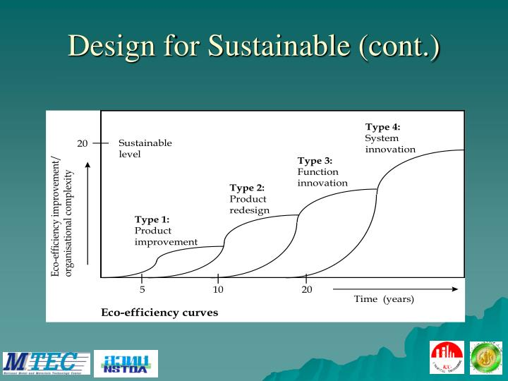 Design for Sustainable (cont.)