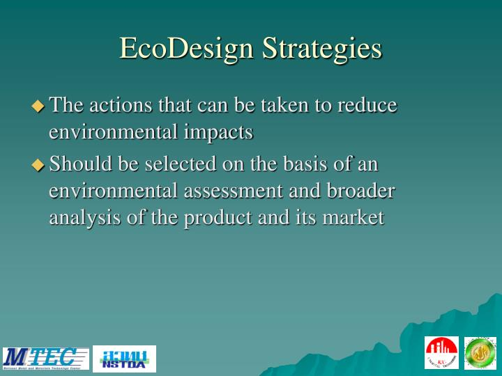 EcoDesign Strategies