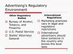 advertising s regulatory environment4