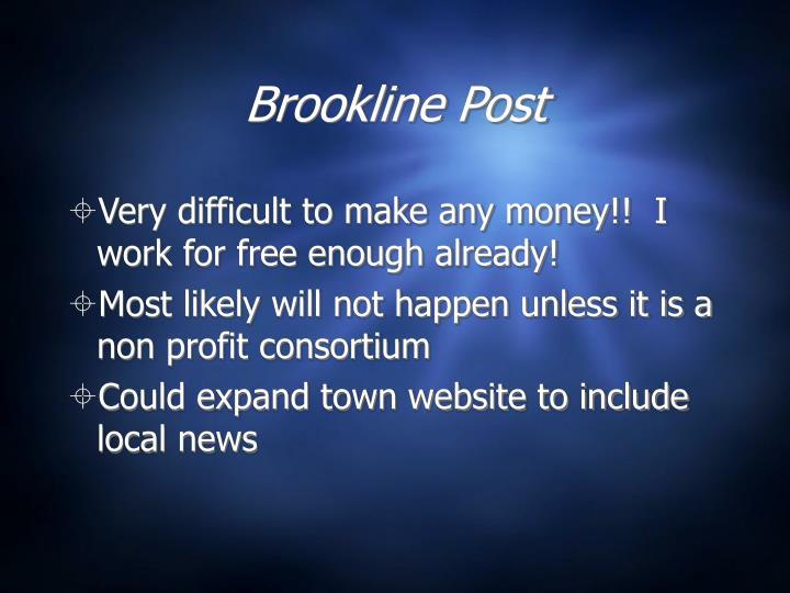 Brookline Post