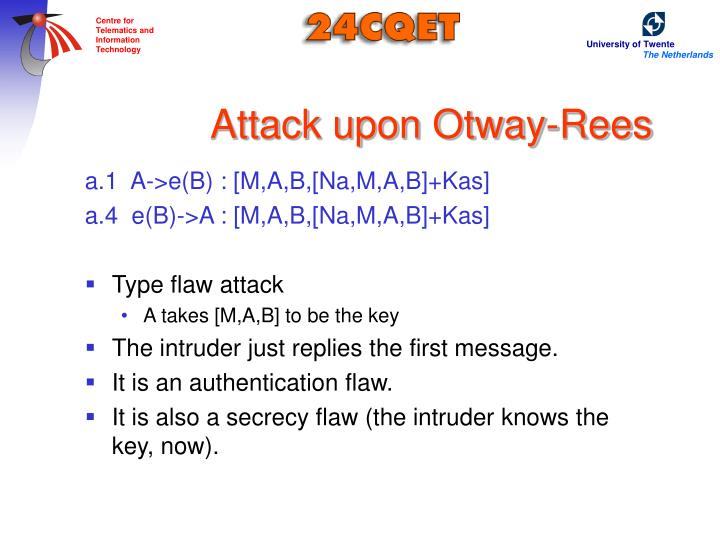 Attack upon Otway-Rees