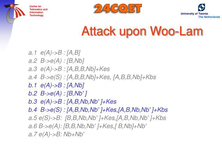 Attack upon Woo-Lam