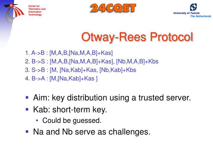 Otway-Rees Protocol