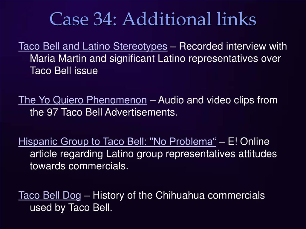 Case 34: Additional links