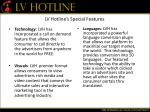 lv hotline s special features