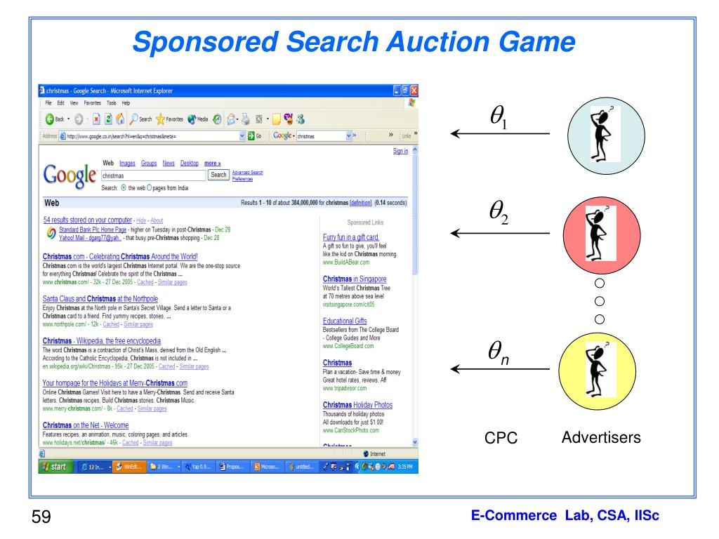 Sponsored Search Auction Game