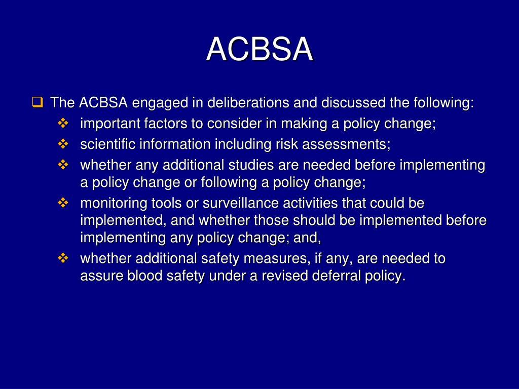 ACBSA