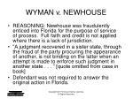 wyman v newhouse7