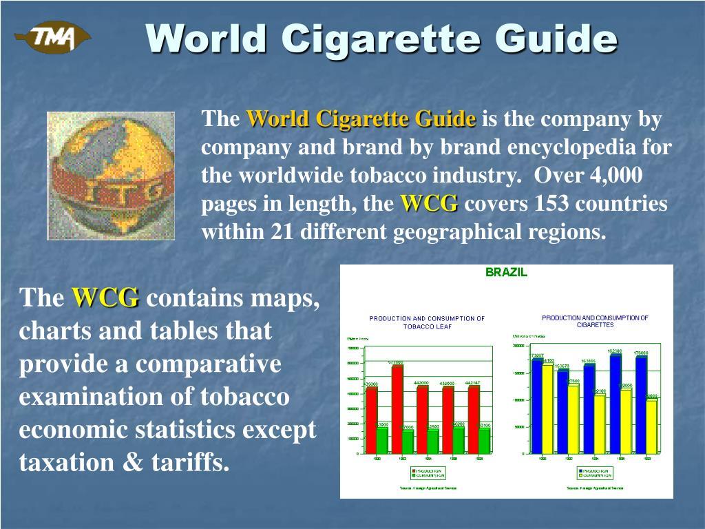 World Cigarette Guide