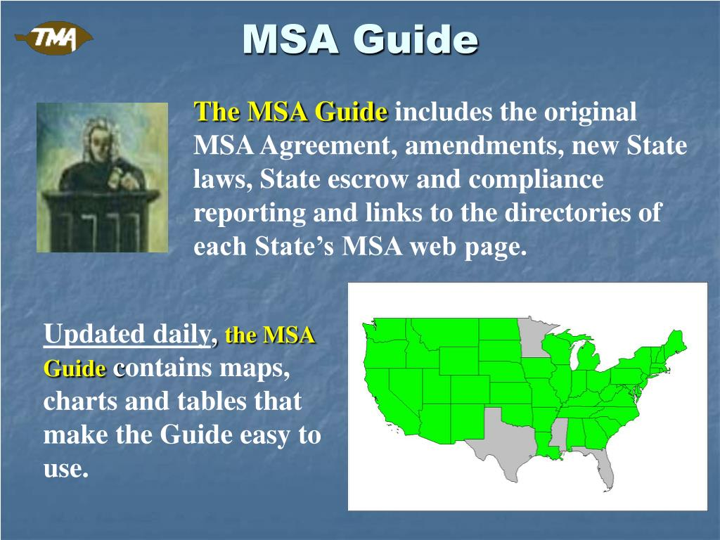 MSA Guide