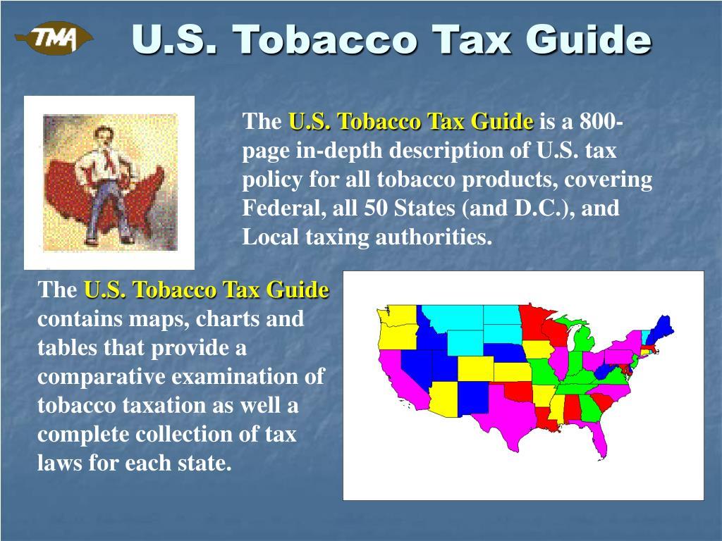 U.S. Tobacco Tax Guide
