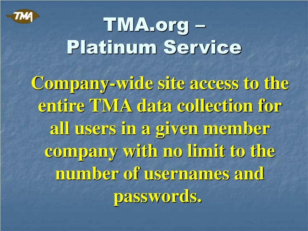 TMA.org –