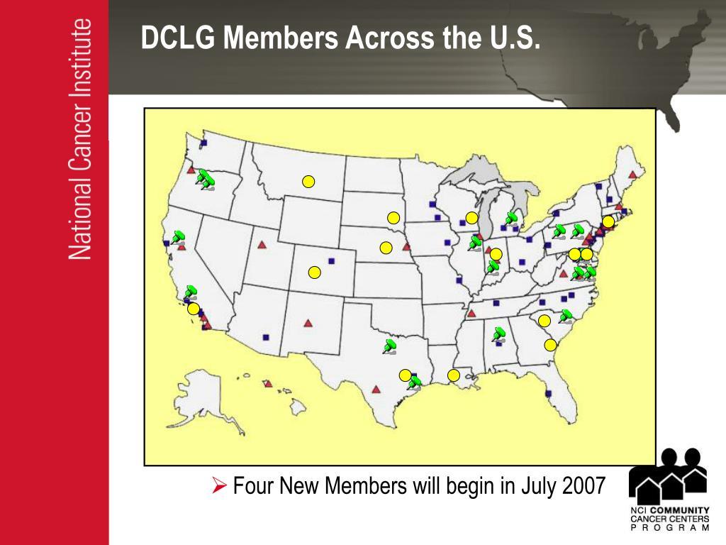 DCLG Members Across the U.S.