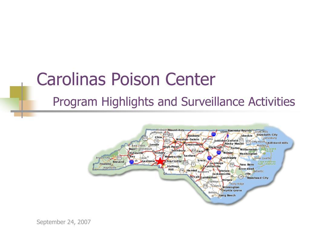 Carolinas Poison Center