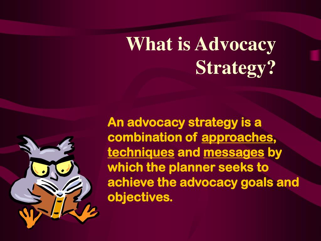 What is Advocacy Strategy?