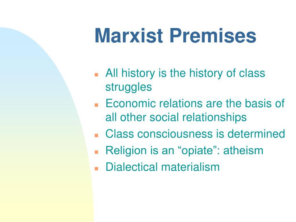 Marxist Premises