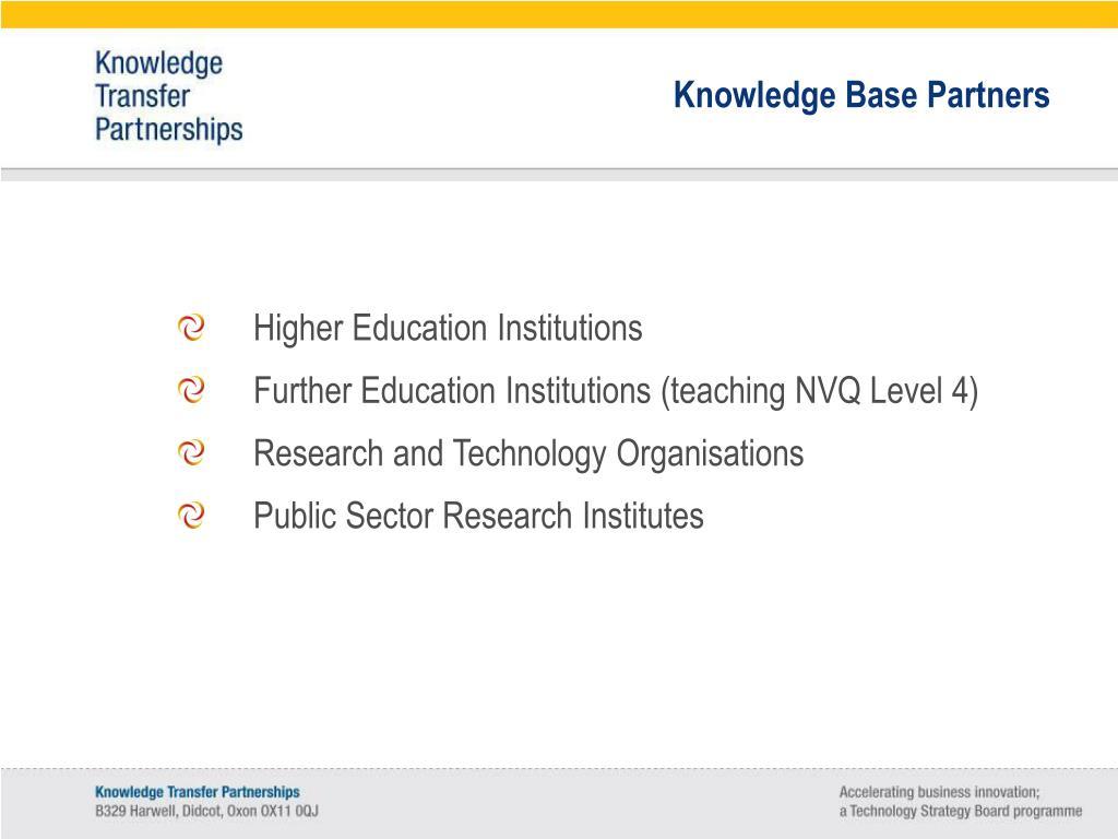 Knowledge Base Partners