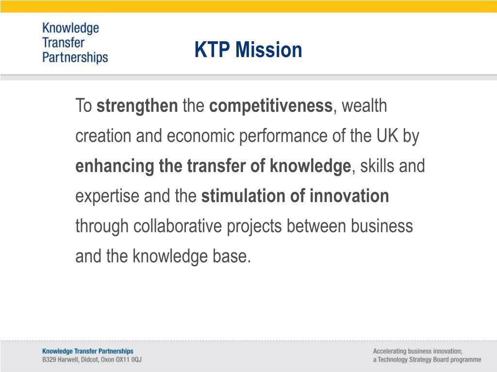 KTP Mission