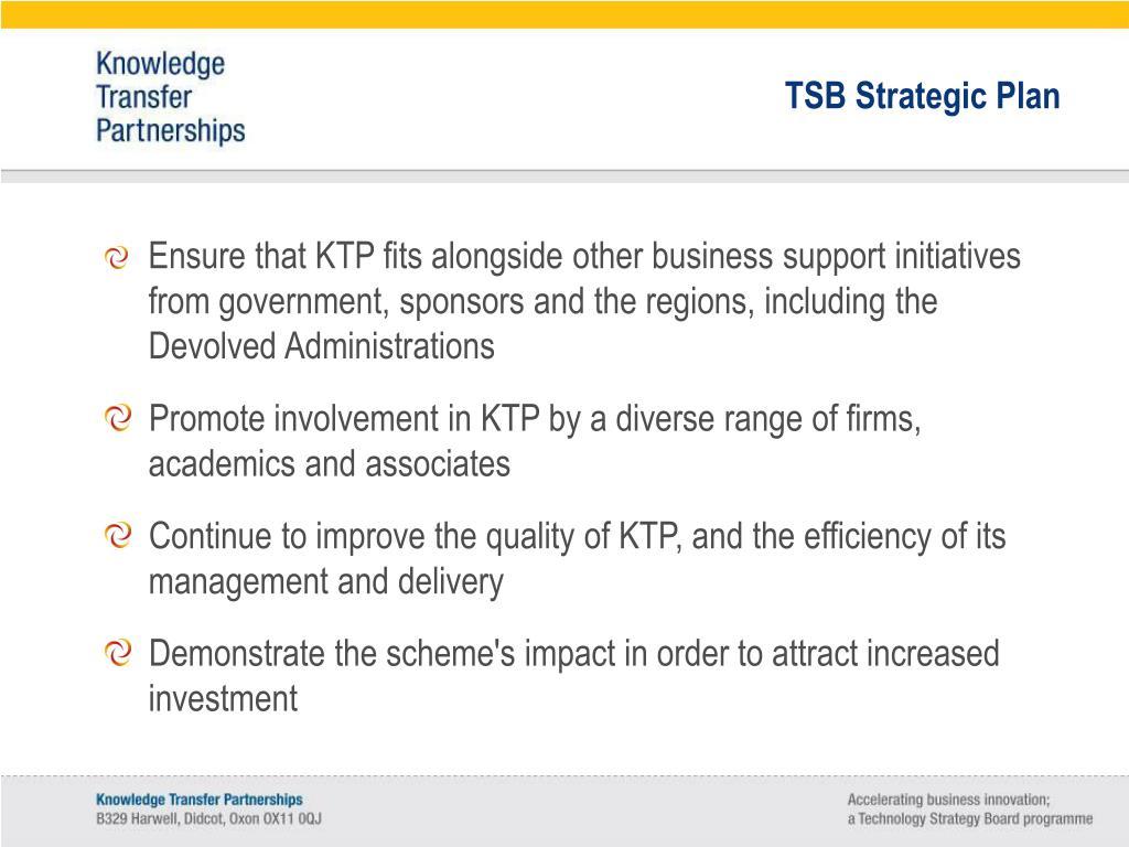 TSB Strategic Plan