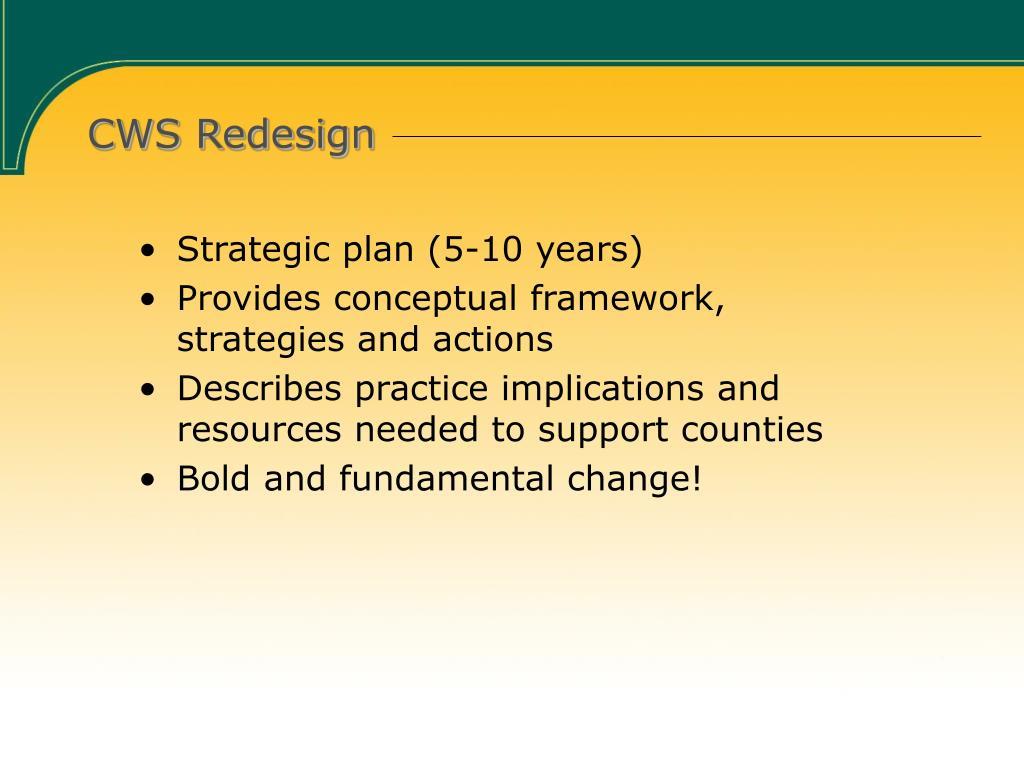 CWS Redesign