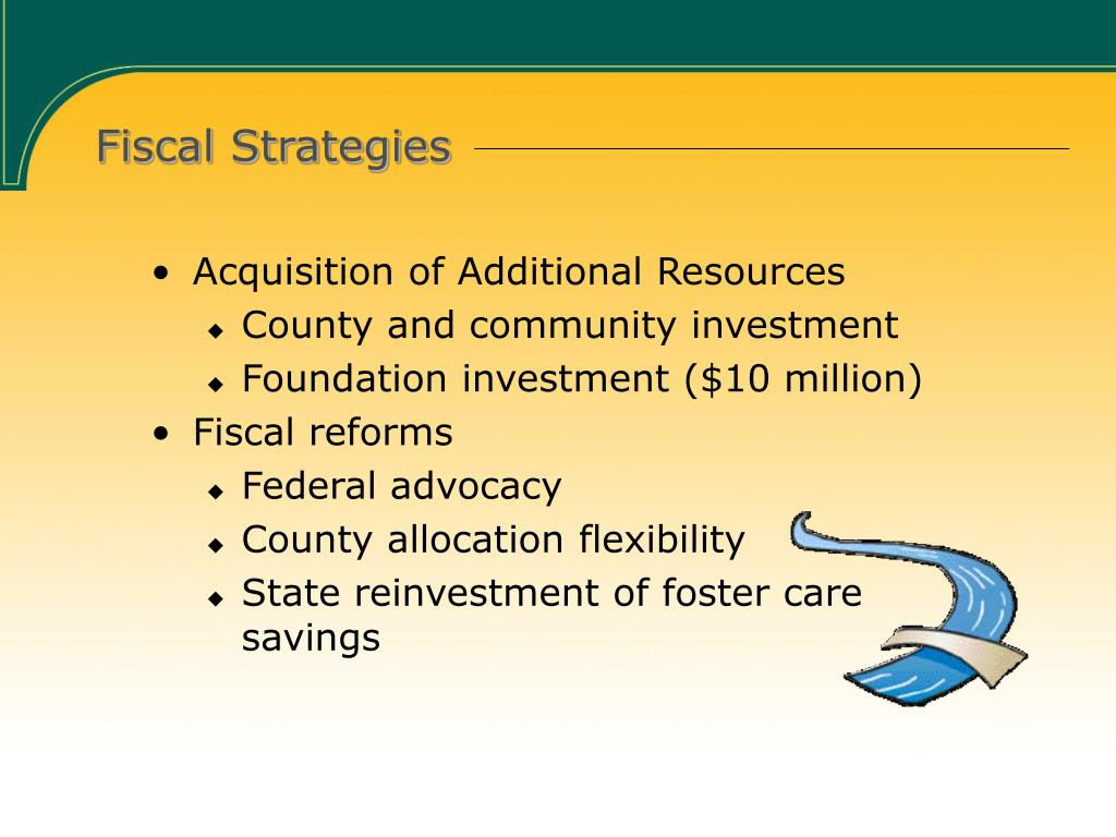 Fiscal Strategies
