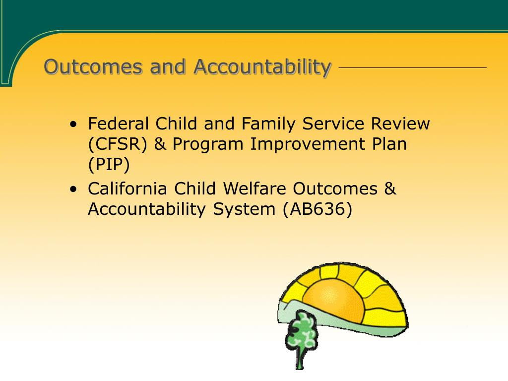 Outcomes and Accountability