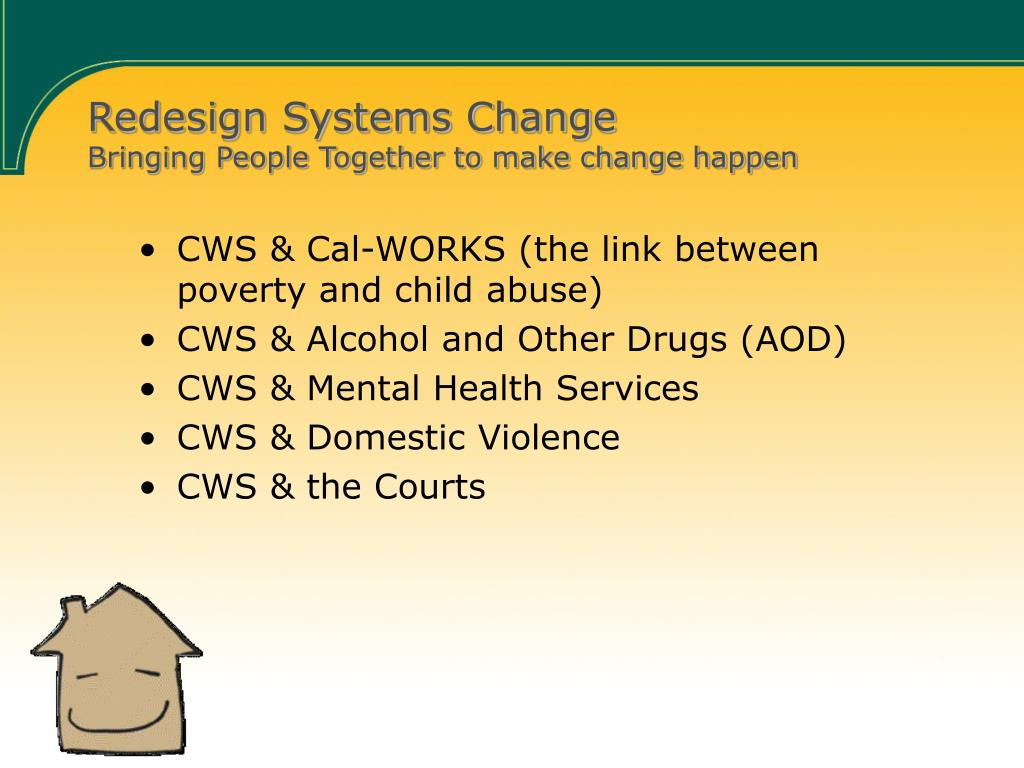 Redesign Systems Change