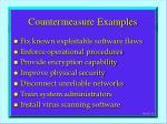 countermeasure examples