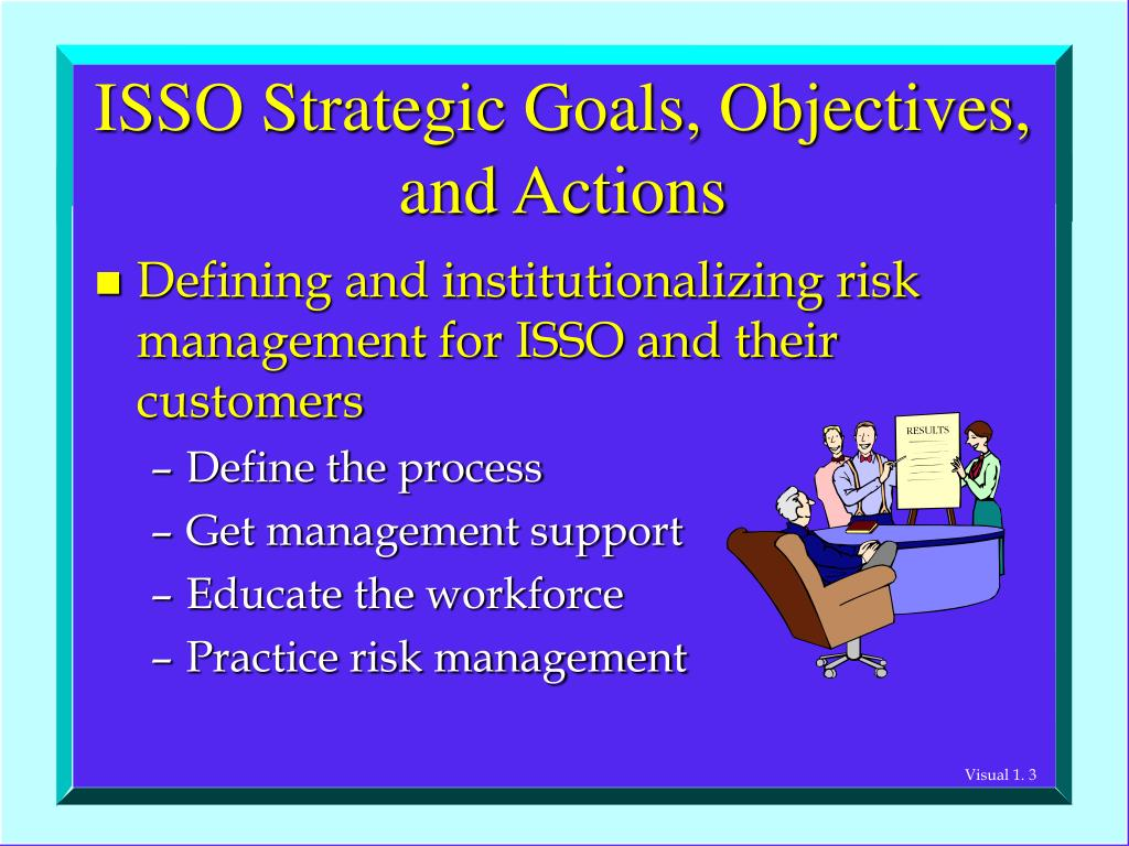 ISSO Strategic Goals, Objectives,  and Actions