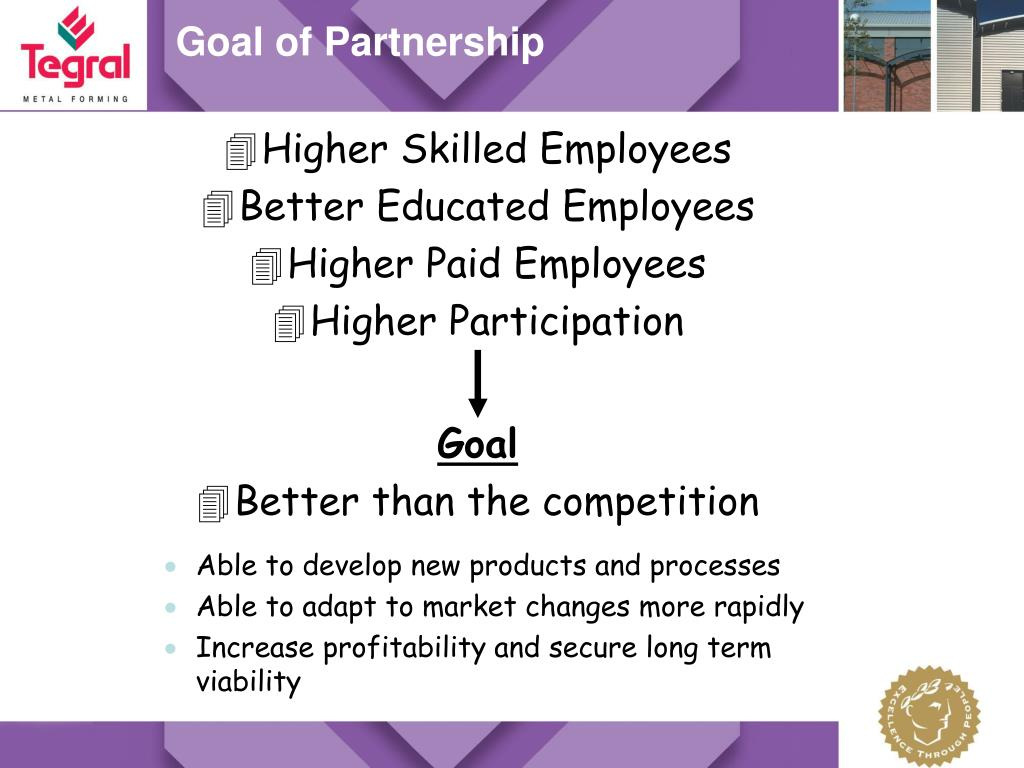 Goal of Partnership