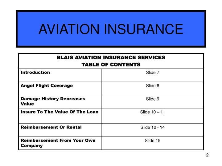 Aviation insurance2