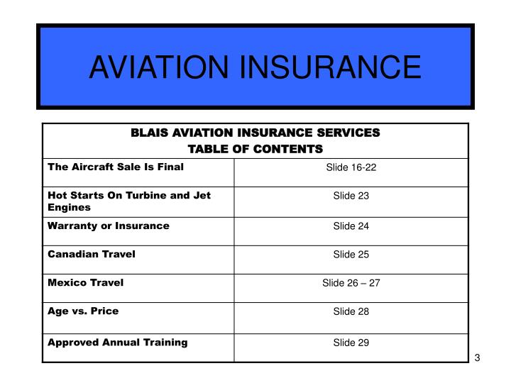 Aviation insurance3