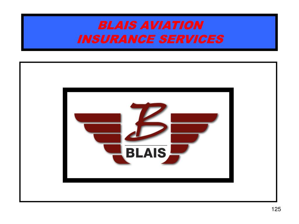 BLAIS AVIATION