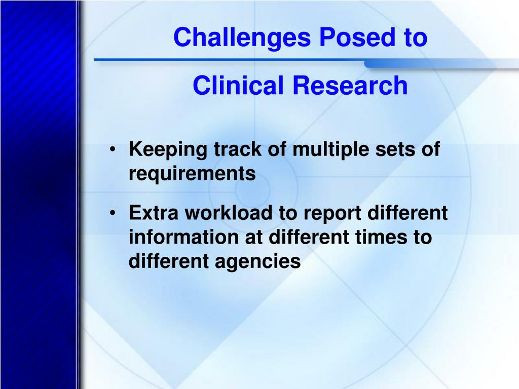 Challenges Posed to