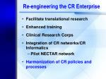 re engineering the cr enterprise