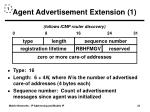 agent advertisement extension 1