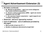 agent advertisement extension 3