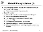 ip in ip encapsulation 2