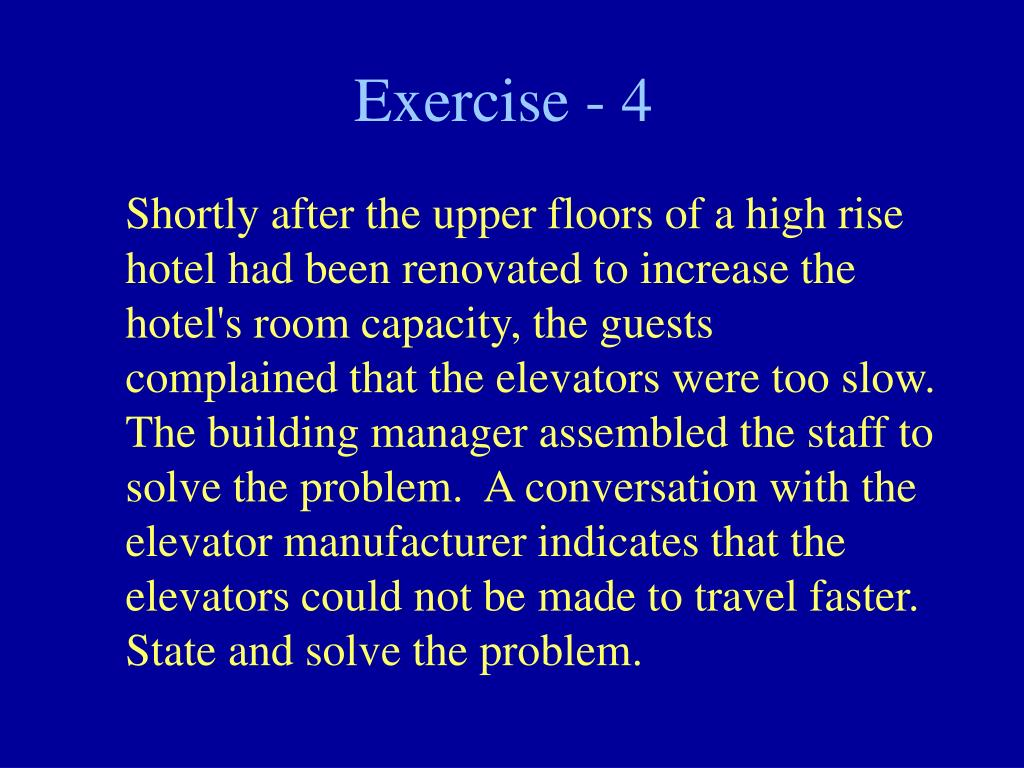 Exercise - 4