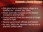 economic social changes