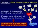 challenge 1 which failover paths to advertise