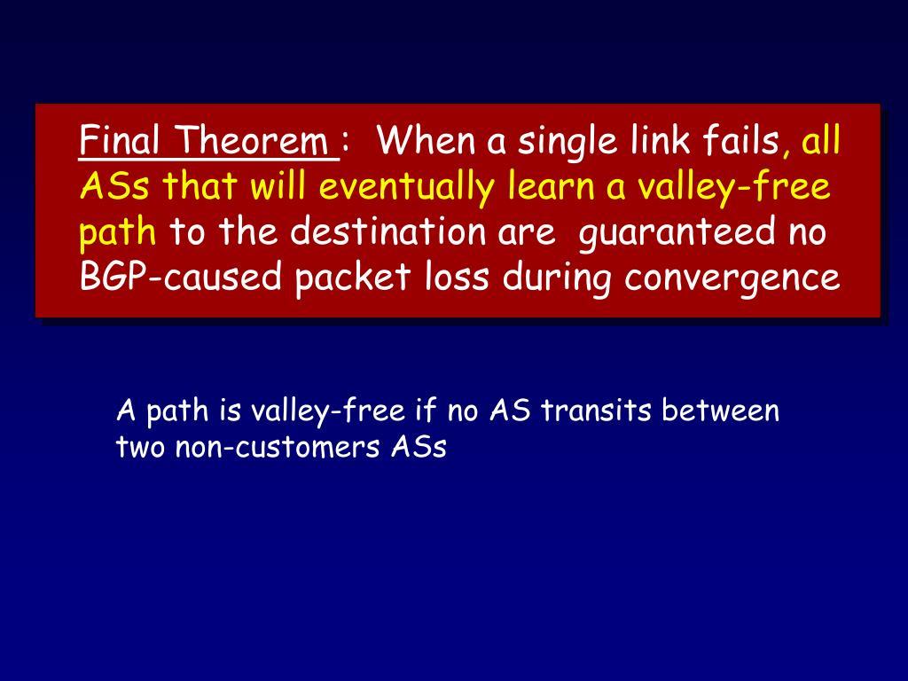 Final Theorem