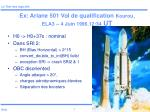 ex ariane 501 vol de qualification kourou ela3 4 juin 1996 12 34 ut