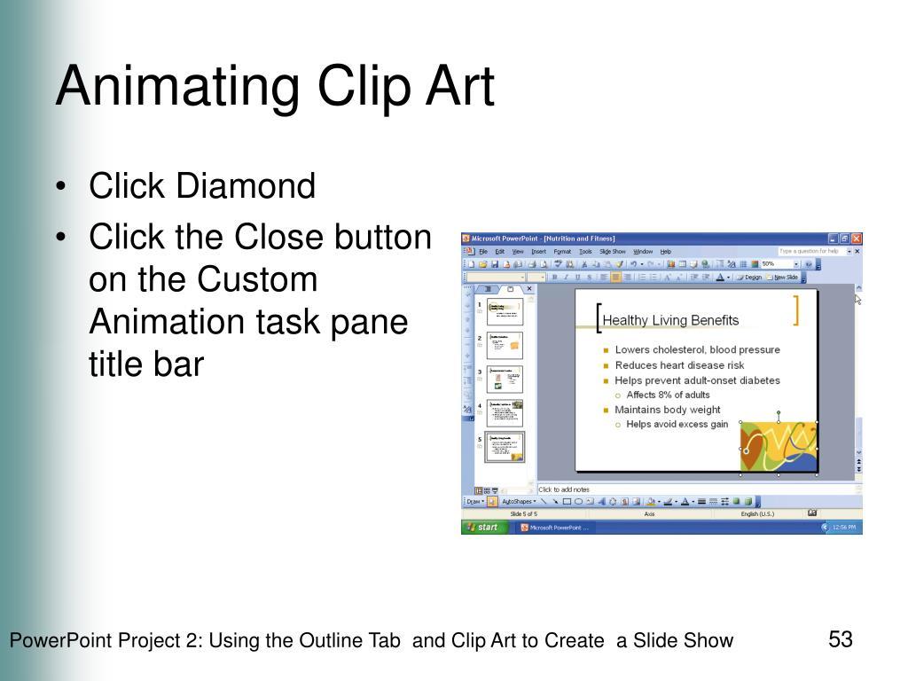 Animating Clip Art