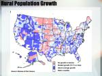 rural population growth