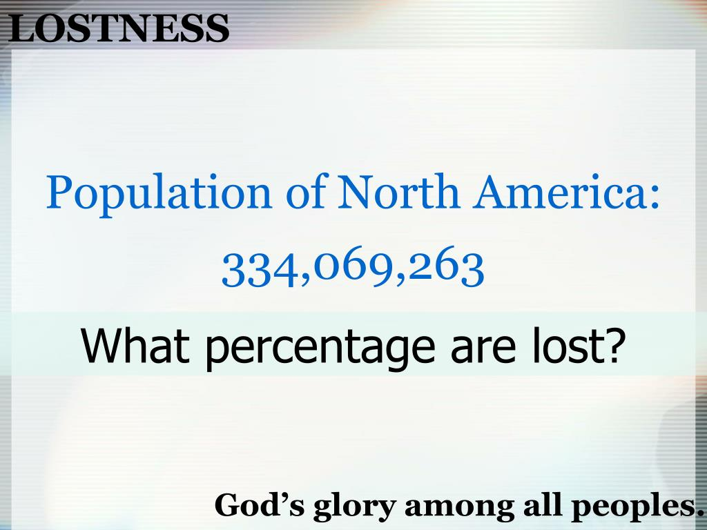 LOSTNESS