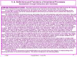 5 a definitions and functions of intentional processes assessment through interaction with schemata